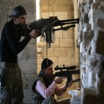 Syrian forces clash with rebels around Aleppo