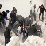 Missiles kill at least 141 in Aleppo