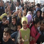 UN: highest number of Syrian refugees to cross border, in a single week