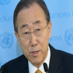 UN Secretary General by 2030 half of the world's population could be facing scarcity of water