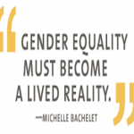 Gender Equality must become a lived reality