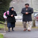 Right to Education activist Pakistani teen Malala Yousafzai writing book