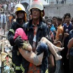 Bangladesh: Rescuers search for survivors after factory collapse