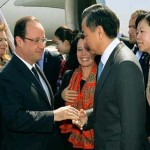 Trade with Asia's economic giant President Hollande begins French trade visit to China