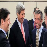 "NATO foreign ministers focus on ""exchange of information"""