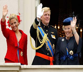 human rights observers queen of netherlands expressed her thanks in a farewell eu news