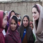 Hollywood star Angelina Jolie, beautiful stranger behind Afghan school