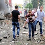 40 dead, around 100 injured in Turkey car bombings near Syria