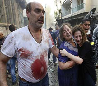 human rights observers Car bomb rips through Benghazi hospital arab uprising 1