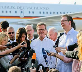 human rights observers - German Foreign Minister Westerwelle pushes Serbia on Kosovo deal EU news1