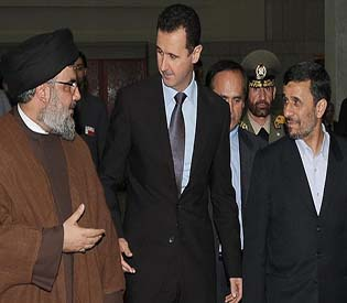human rights observers - Hezbollah chief vows victory agains syrian rebels arab uprising