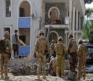 human rights observers - International aid workers trapped in siege rescued by Afghan police1