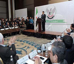human rights observers - Members of SNC, Arab league draft new peace proposals ahead Geneva2.