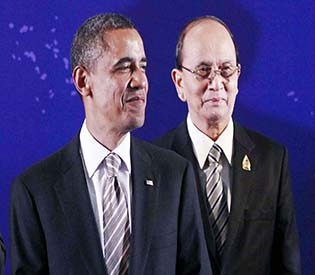 human rights observers - No significant results in Myanmar president's US visit intl. news 1
