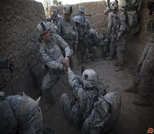 human rights observers Seven NATO troops killed in bloody Afghan attacks intl. news 1