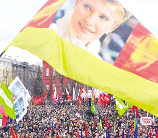 human rights observers - Thousands rally street protests for Yulia Tymoshenko in Ukraine eu crisis 1