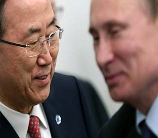 human rights observers - UN chief Ban ki Moon hopes for Syria conference in June intl. news 1