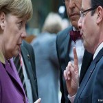 Despite differences with Merkel, Hollande proposes eurozone 'government'