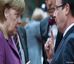 human rights observers despite difference with merkel Hollande proposes eurozone eu crisis 1