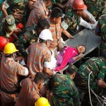 Woman pulled from rubble after 17 days, brings new hope to Bangladesh