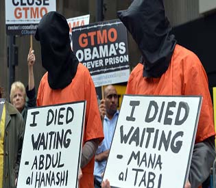 President Obama vows to close military prison at Guantanamo Bay