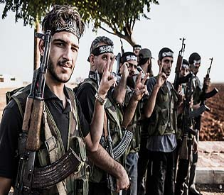 human rights observers - over 20 hezobollah fighters killed in a seige arab uprising 1
