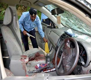 human rights observers pakistan lead prosecutor in bhutto case killed intl. news