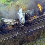 Freight train transporting highly toxic tanks of chemicals derails in Belgium