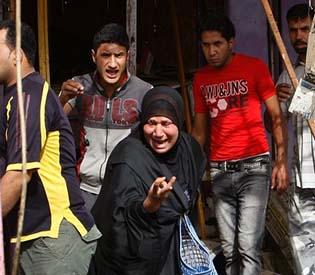 human rights observers - wave of car bomb attacks kills 57 in iraq arab uprising