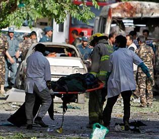 Human rights observers - Afghanistan's supreme court attacked by deadly suicide bombs intl. news1