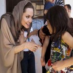 Angelina Jolie urges intl. community for more aid in Syria crisis