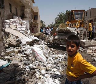 human rights observers - Iraq hit by deadliest eruption of violence, killing dozens arab uprising1