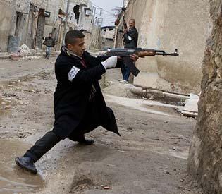 human rights observers - Syrian rebels target Hezbollah militia on labanese soil arab uprising1
