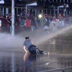 Tear gas returns to Turkey as PM rules out early elections