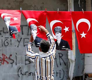 human rights observers - Turkish Prime Minister Erdogan faces growing criticism eu crisis1