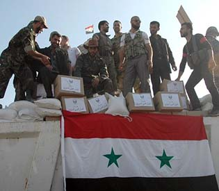 human rights observers - after qusair Syrian army with an aggressive push in Homs arab1