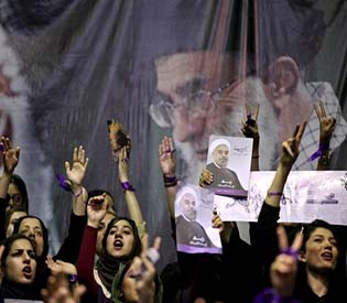 human rights observers - iran's presidential candidate vows to reset foreign ties intl. news1