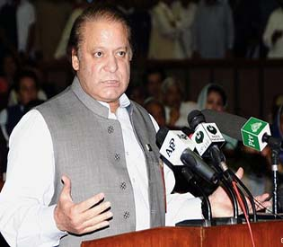 human rights observers - paksitan parliament endorsed nawaz sharif as prime minister intl. news1