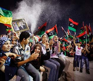 humna rights observers - NATO to send expert mission to Libya arab uprising1