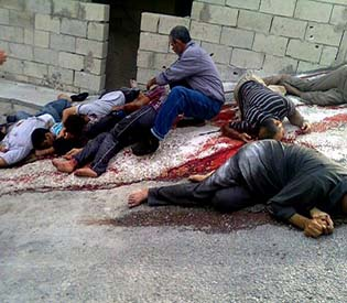 humna rights observers UN reports nearly 90000 killed in syrian civil war arab uprising1