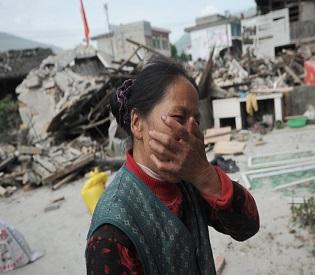hromedia Chinas gansu hit by powerful earthquake intl. news2