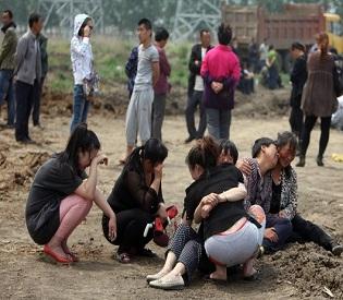 hromedia China chemical leak in Shanghai 'kills 15' intl. news1