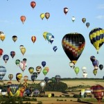 Mass hot air balloon launch in France soars past record