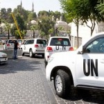 UN team returns after visiting site of chemical attack