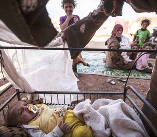 hromedia - Aid group Syrian children at risk of malnutrition