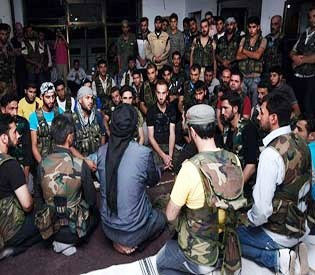 hromedia -Al-Qaida militants capture town in northern Syria