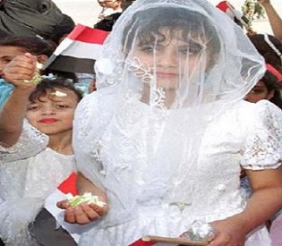 hromedia Bride, 8, dies of injuries on wedding night in Yemen women's rights2