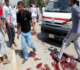 hromedia Deadly bombing kills 30 at Baquba mosque in Iraq arab uprising2