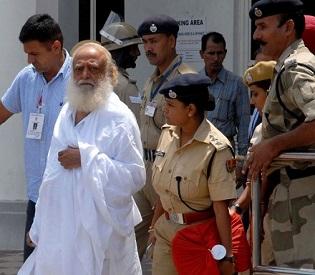 hromedia Indian spiritual guru Asaram bapu sent to 14 days judicial custody intl. news2