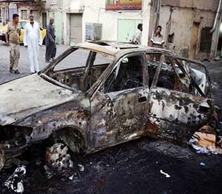 hromedia - Iraq officials say suicide attack kills 16